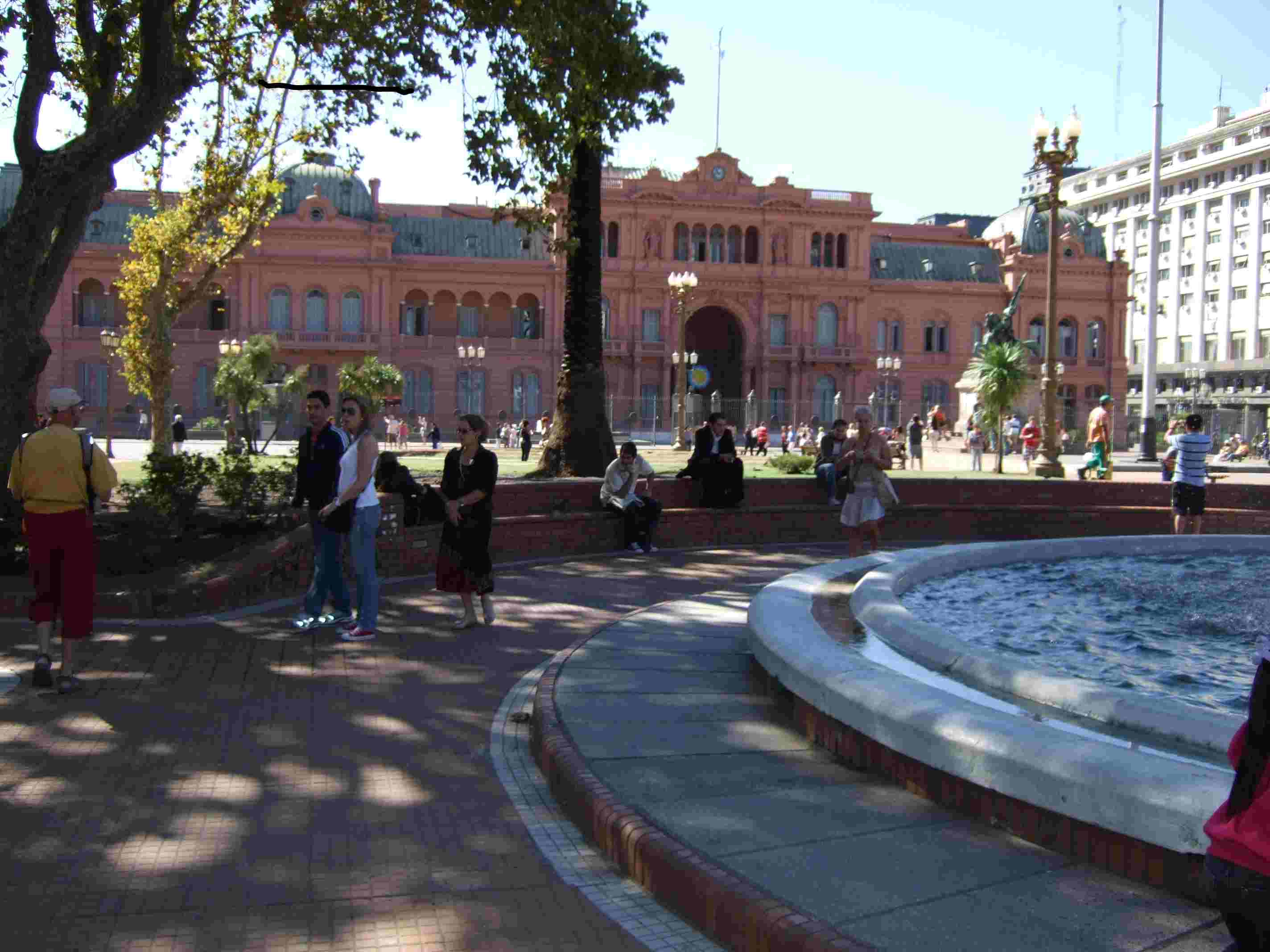 Casa Rosada - government house in Buenos Aires