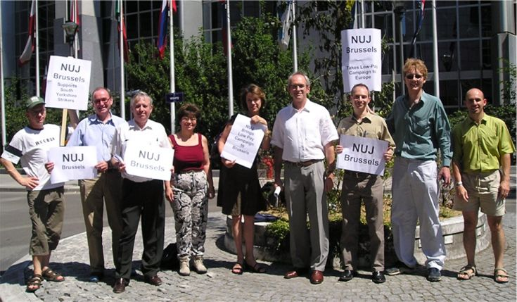 NUJ Brussels meets MEP Richard Corbett